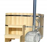 Фурако с внешней дровяной печью