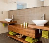 Мебель из массива для ванной комнаты