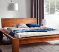 Кровать из массива в стиле лофт