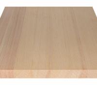 Мебельный щит из лиственницы цельноламельный 40мм