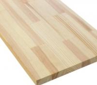 Мебельный щит из лиственницы сращенный 40мм