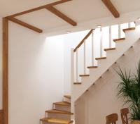 Лестница из сосны К-001м