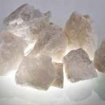 Белый кварцит, колотый, 20 кг