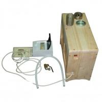 «Парогенератор» накопительный в кедровом корпусе (ПГН) 2 кВт-6л.