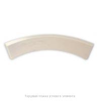 Торцевая планка, дуга 28 х 80 мм (ольха)