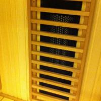 Деревянная решетка для инфракрасного излучателя Harvia Carbon WX455, SAS 25000
