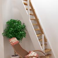 Лестницы для дачи К-007