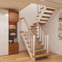 Лестница из сосны К-034м