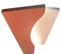 Элемент потолочного декора с встроенной подсветкой Aerius