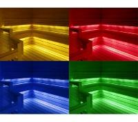 Набор Cariitti Сауна Линеар VPL30C - 4M, 2 линейки по 2 м, смена цветов, до 80 С