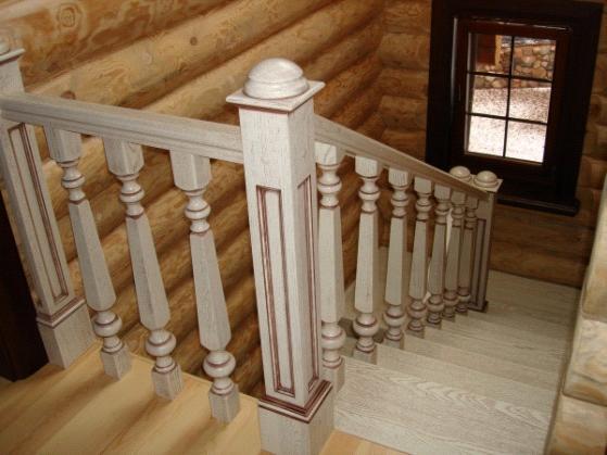 Балясины резные деревянные - резьба по дереву steepline